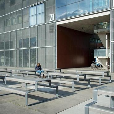 Superfine sæder og bordplade i HPL