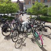 Jello cykelparkering