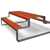 Superfine outline bord/bænk